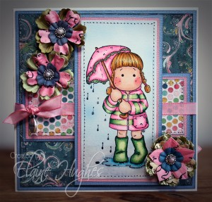 Dance in the Rain - Chasing Butterflies Tilda Card 001