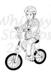 Whimsy Kids - Connor on Bike