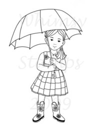 Whimsy Kids - Rainy Day Emma