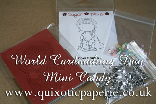 Quixotic Paperie - World Card Making Day Mini Candy!