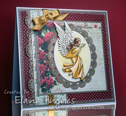 Elisabeth Bell for SCACD - Angel of Hope - available in the UK at www.quixoticpaperie.co.uk