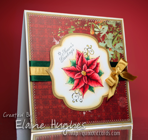 Whimsy Stamps - Vintage Christmas - available at www.quixoticpaperie.co.uk