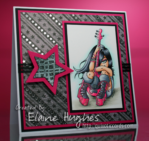 Whimsy Stamps - Kenny K - Star - available at www.quixoticpaperie.co.uk