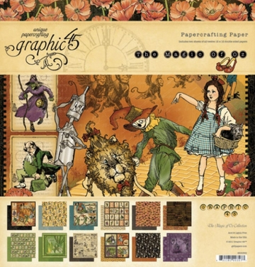 Graphic 45 Magic of Oz at www.quixoticpaperie.co.uk