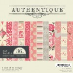 Authentique - available at www.quixoticpaperie.co.uk