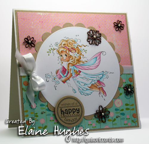 Sylvia Zet for SCACD Stamps - Precious Present - available at www.quixoticpaperie.co.uk