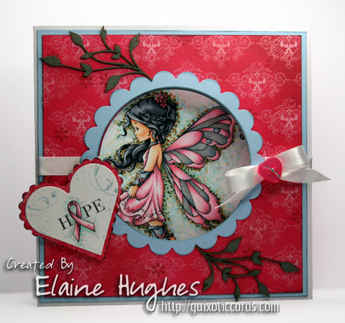 Whimsy Stamps - Sylvia Zet - Silver Fairy - available at www.quixoticpaperie.co.uk