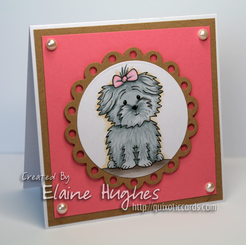 The Stamps of Life - birthday4cookie - www.quixoticcards.com