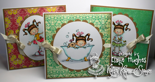 "Kraftin' Kimmie Stamps - Cheryl Alger ""LuLu"" - available at www.quixoticpaperie.co.uk"