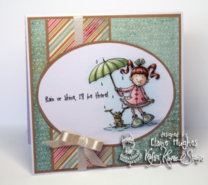 Kraftin' Kimmie Stamps - Cheryl Alger Lulu & Friends - available at www.quixoticpaperie.co.uk