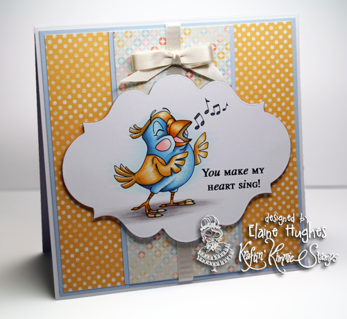 Kraftin' Kimmie Stamps - Tweets & Twitters - available at www.quixoticpaperie.co.uk