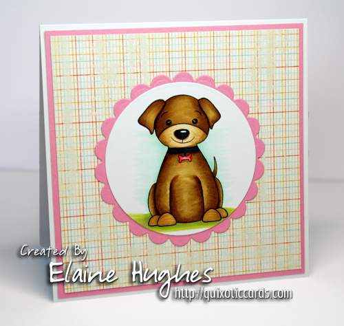 Market Street Stamps - Pawprints on our Hearts - www.quixoticcards.com