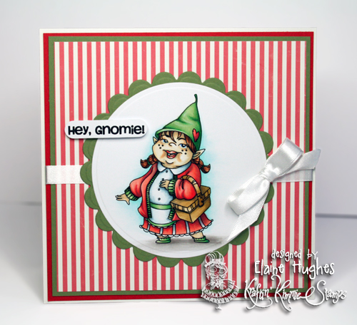 Kraftin' Kimmie Stamps - Hangin With My Gnomies - available at www.quixoticpaperie.co.uk