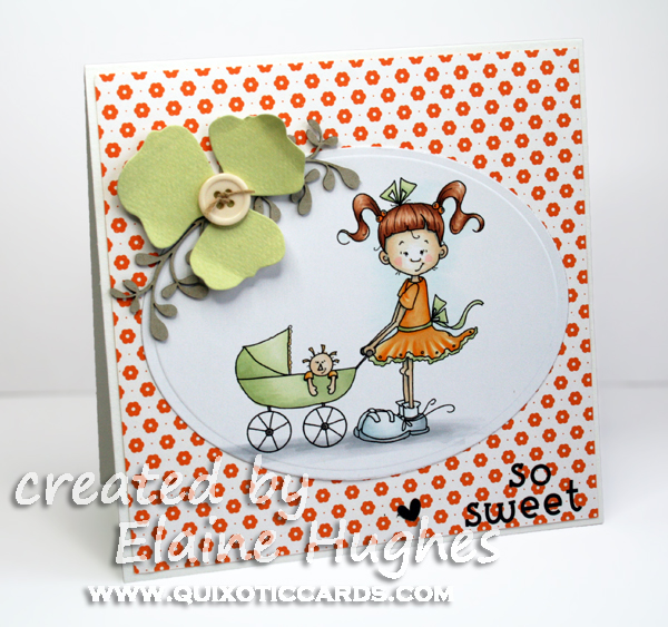Kraftin' Kimmie Stamps - Playtime Lulu - available at www.quixoticpaperie.co.uk