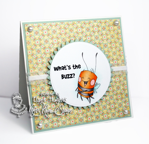 Kraftin' Kimmie Stamps - Bug Buddies - available at www.quixoticpaperie.co.uk