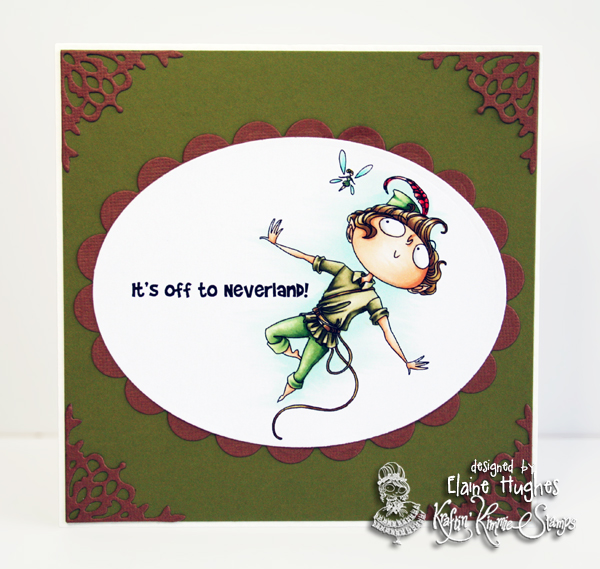 Kraftin' Kimmie Stamps - Peter Pan - available at www.quixoticpaperie.co.uk