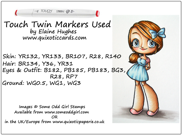 Some Odd Girl Stamps - available at www.quixoticpaperie.co.uk