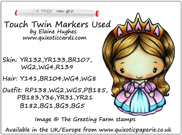 The Greeting Farm Princess Anya 2 - available at www.quixoticpaperie.co.uk