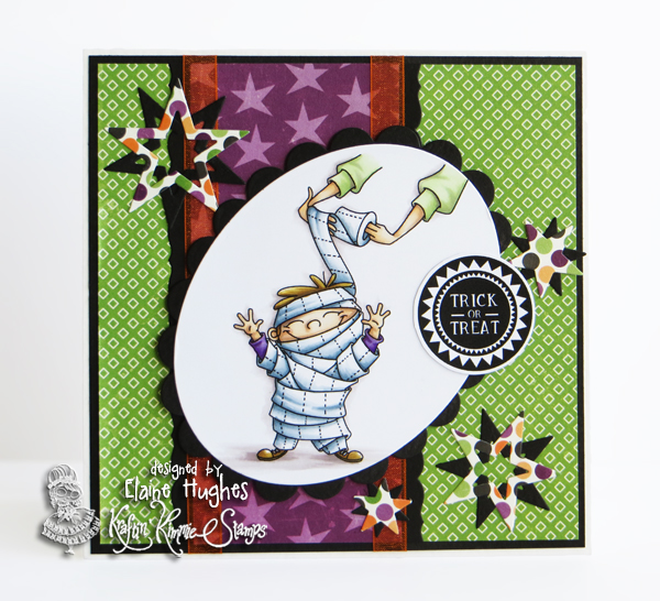 Kraftin' Kimmie Stamps - Too Cute to Spook 2 set - available in the UK at www.quixoticpaperie.co.uk