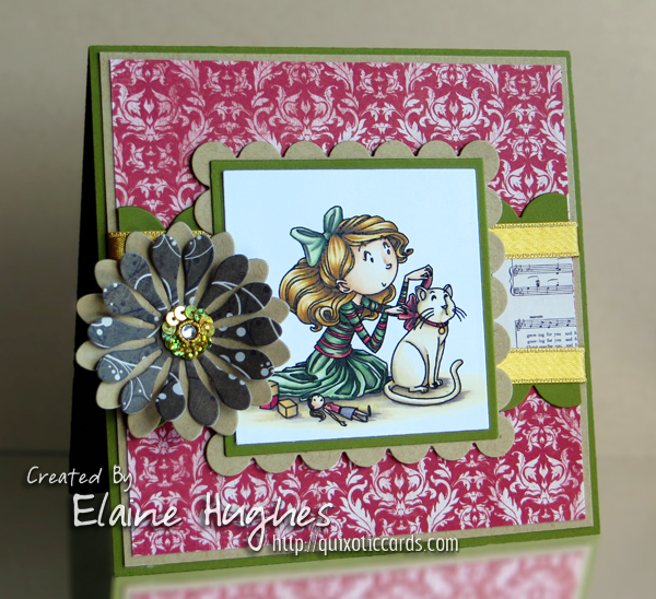 Kraftin' Kimmie Stamps - Madeline - available in the UK at www.quixoticpaperie.co.uk