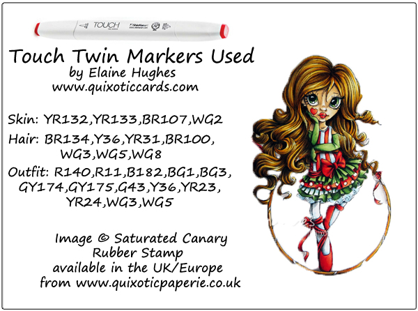 Saturated Canary - Circus Trixie - www.quixoticcards.com
