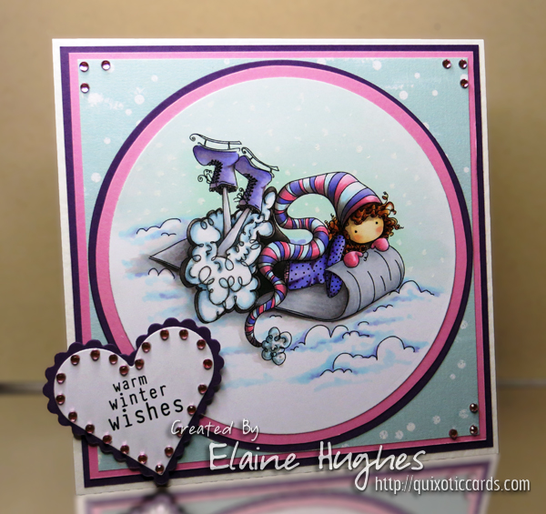 Stamping Bella - Winona Loves Winter - www.quixoticcards.com