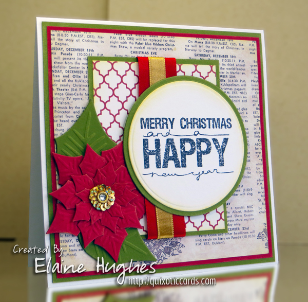 Stamping Bella - Merry Christmas - www.quixoticcards.com