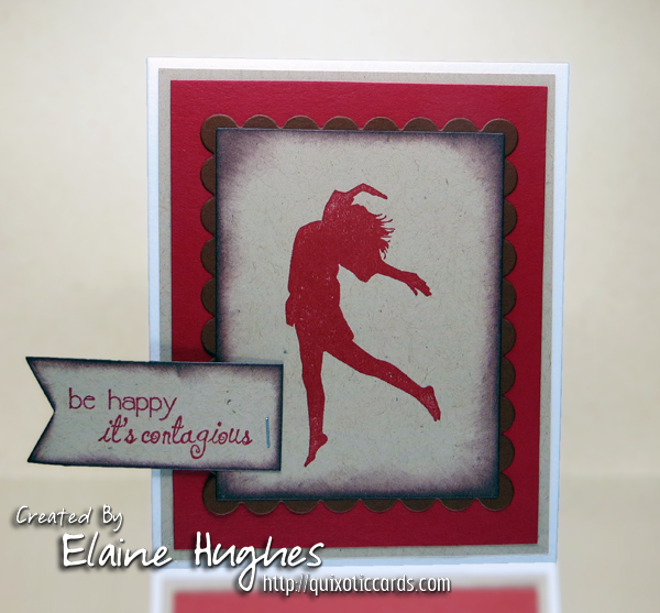 Stamping Bella - Happy Silhouettes - www.quixoticcards.com/blog