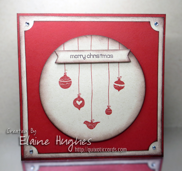 Stamping Bella - Hanging Ornaments - www.quixoticcards.com/blog