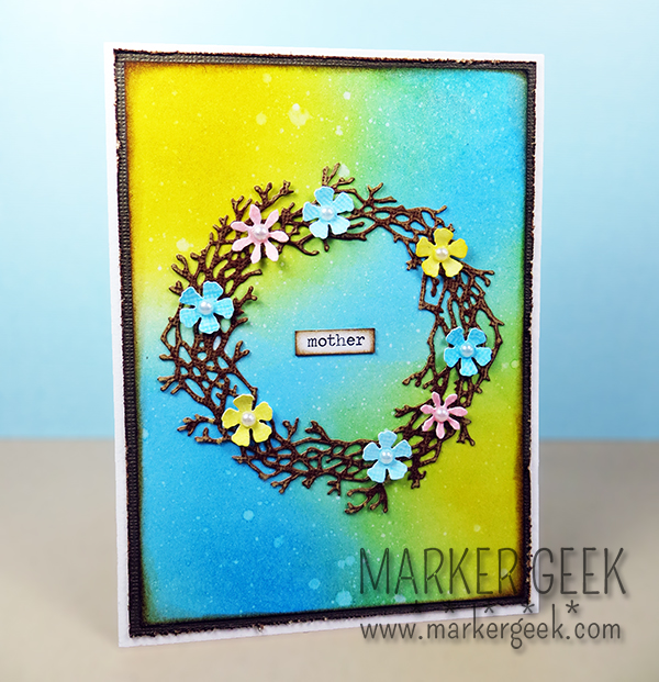 Mother's Day Card | Marker Geek