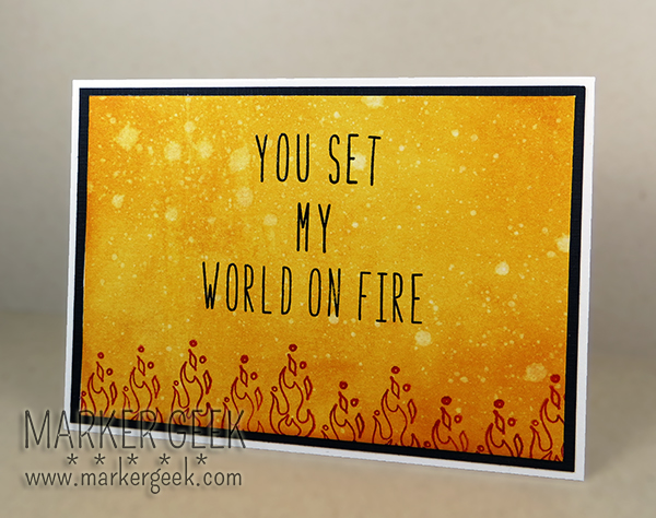 SCACD Stamps - Elements Collection - Fire | Marker Geek