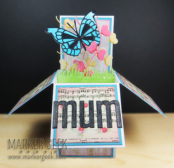 Mum Pop Up Box Card | Marker Geek