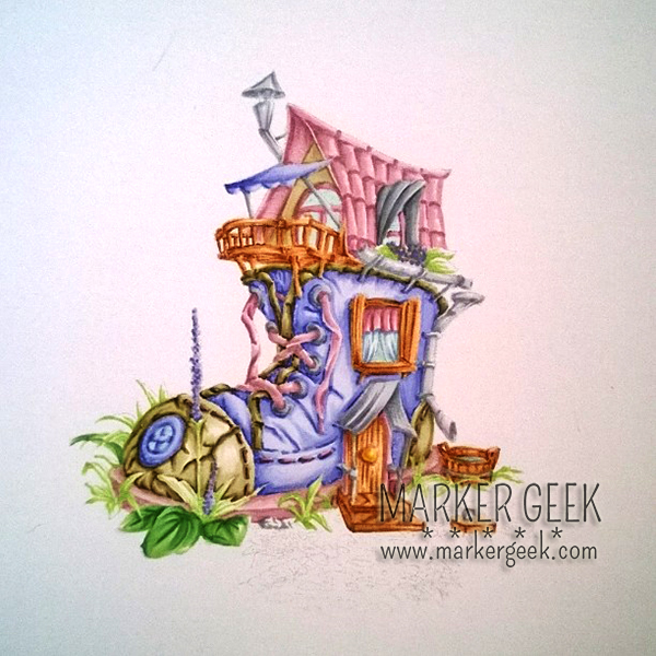 Make it Crafty Boot House | Marker Geek