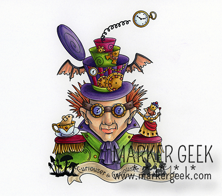 Carmen Medlin for SCACD Digital - The Hatter