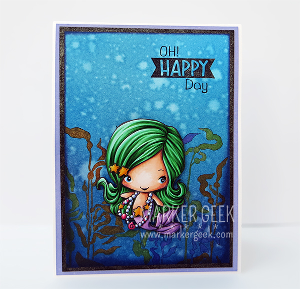 The Greeting Farm - Magical kit Mermaid - www.markergeek.com