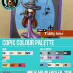 Tiddly Inks Bewitching Copic Marker Colour Palette - www.markergeek.com