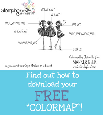 Stamping Bella - Colour Maps - www.markergeek.com