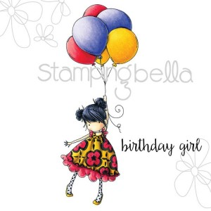 Stamping Bella - Tiny Townie - Blossom Loves Balloons www.markergeek.com