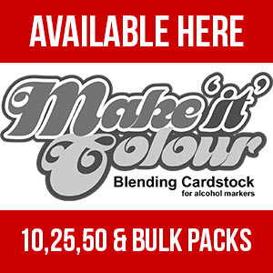 Make it Colour Blending Card - Elaine's favourite for Copic and other alcohol based marker colouring.