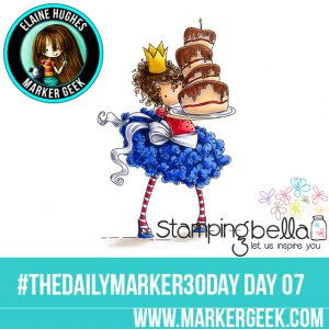 Stamping Bella Tiny Townie Bree Loves Buttercream #thedailymarker30day Click through to read the blog post and get a Copic Colour Map!