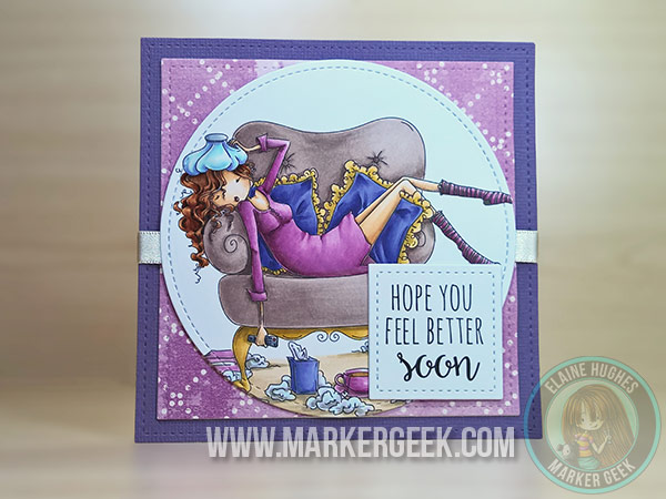 Stamping Bella Uptown Girl Sofia is a Sicky - www.markergeek.com