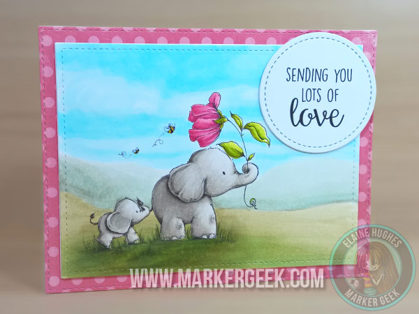 Stamping Bella - I'll Always Have Your Back Stuffies - www.markergeek.com