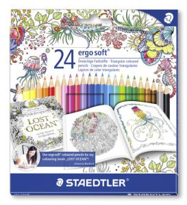 Staedtler Ergosoft Coloured Pencils www.markergeek.com