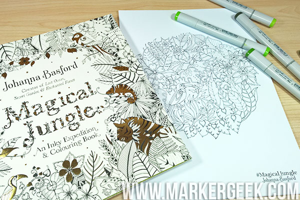 Johanna Basford Magical Jungle Colouring Book Review Click Through To Read The Post Im Entering My