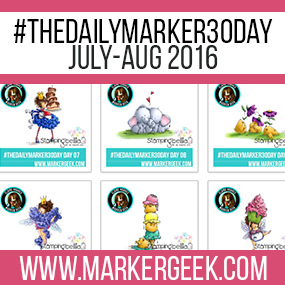 View all my coloured images for #TheDailyMarker30Day July 2016, along with full colour maps.