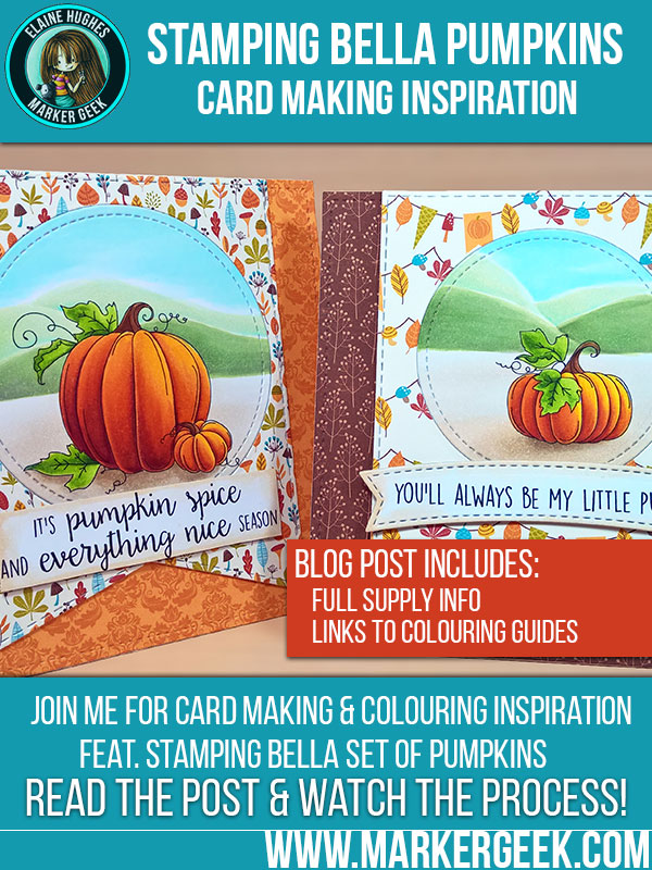 Stamping Bella Pumpkins Card Making Inspiration. Click through to read the post and check out the photos!