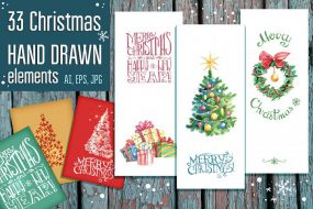 Free Christmas Design Bundle! Click through to download.