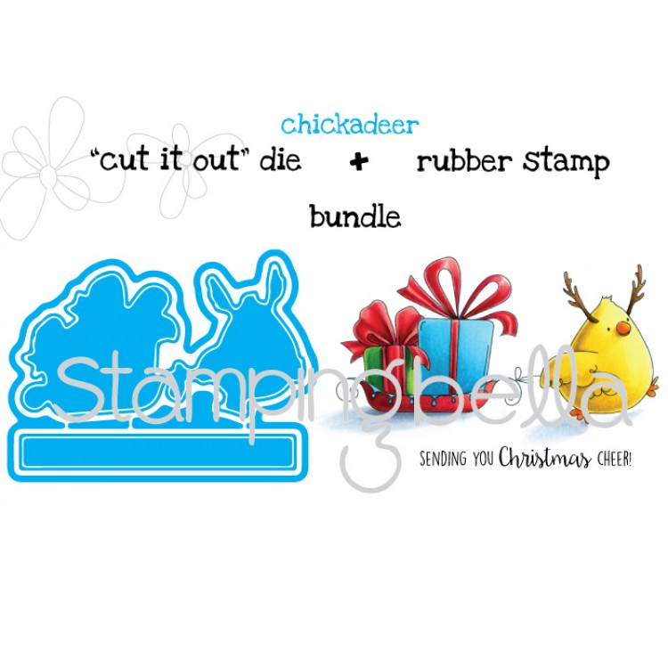 Stamping Bella Chickadeer Stamp & Die Bundle. Click through to read the post and get links to the new release!