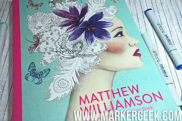 Matthew Williamson Fashion, Print & Colouring Book Review & Colouring. Click through for the review, flip through and colouring videos!