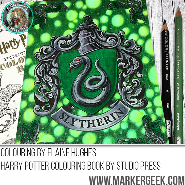 2016-11-18-harry-potter-coloring-book-slytherin-crest - Marker Geek